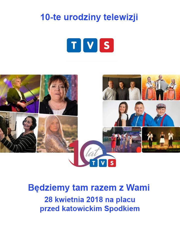 10-te urodziny TVS świętujemy razem