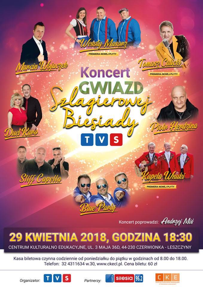 Kolejny koncert Gwiazd Szlagierowej Biesiady