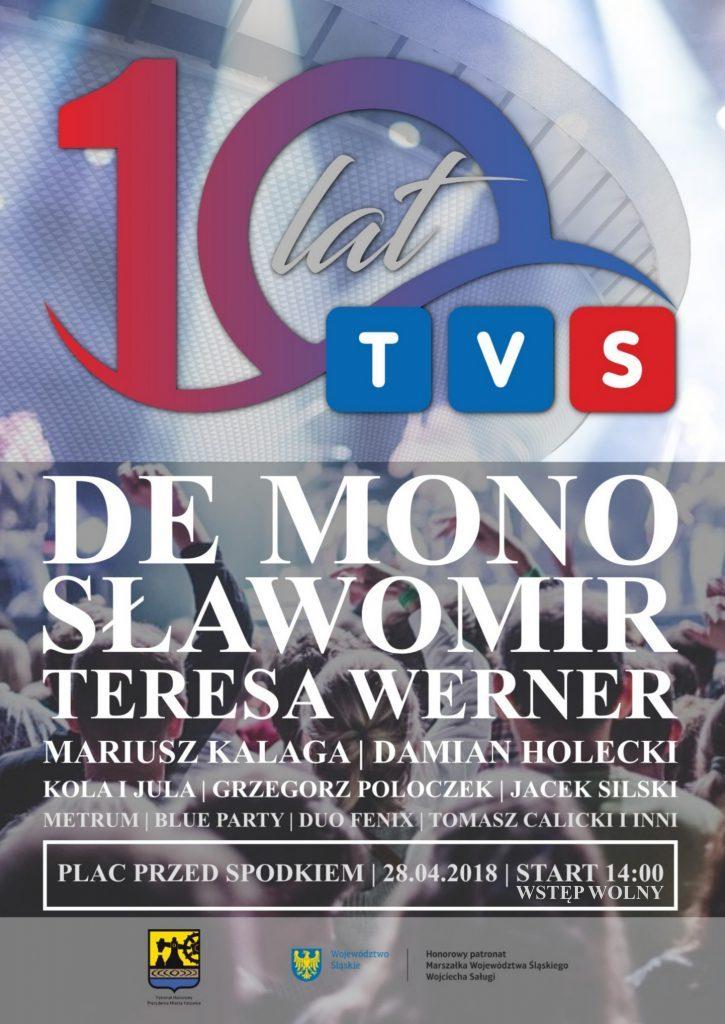10-lat TVS-u! Plac przed katowickim Spodkiem!